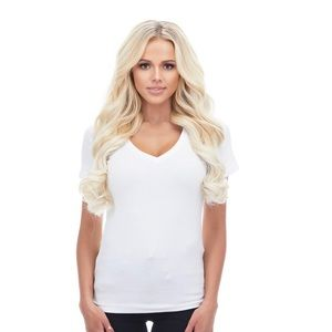 "Bellami 20"" Clip In Extensions - Ash Blonde (60)"
